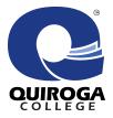 Quiroga College logo